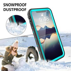 Image 3 - IP68 Waterproof Phone Case For iPhone  12 11 Pro Max X XR XS MAX Clear Silicone Shell for Apple SE 8 7 6S Plus Shockproof Cover