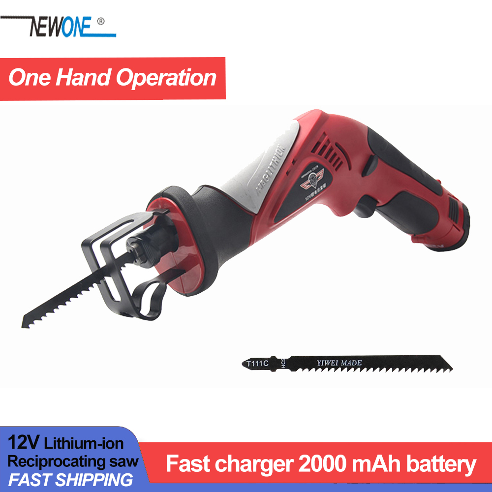 Haphaestus 12V Portable lithium-ion reciprocating saws saber saw portable cordless electric power tools jig saw