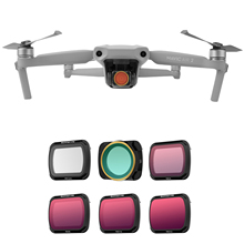Sunnylife Lens Filter MCUV Adjustable ND PL ND 4 816 32 ND4 PL ND8 PL CPL Filters for DJI Mavic Air 2 Drone Camera Accessories