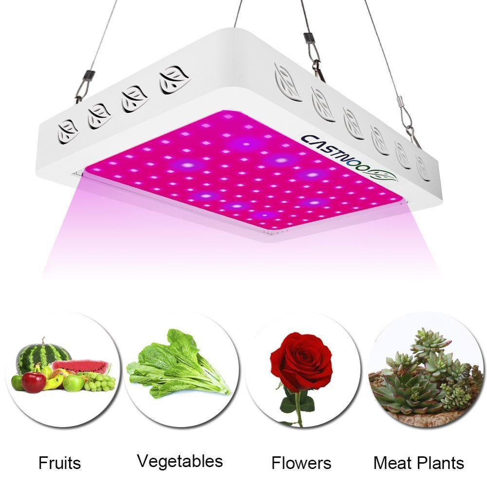 500W Plant Growth Lamp 96 LED Grow Light Full Spectrum Indoor Hydro Veg Flower Growing Panel Led Grow Light Indoor LED Lamp(China)