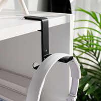 Soporte Universal para auriculares, soporte de escritorio antideslizante para colgar auriculares, ahorro de espacio