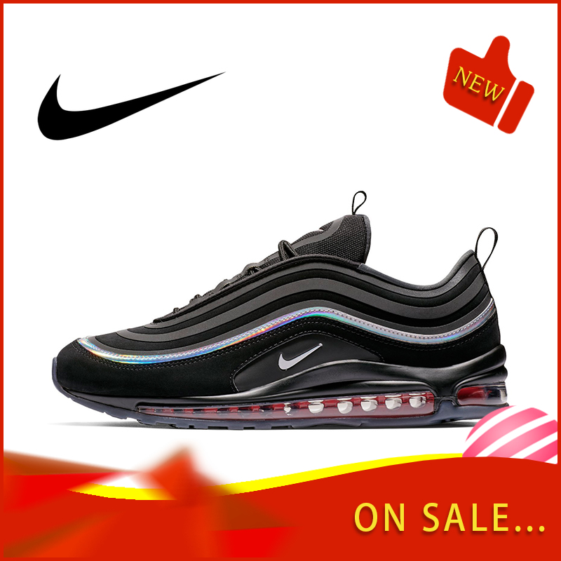Original Authentic Nike Air Max 97 LX Men's Running Shoes Fashion Outdoor Sports Shoes Breathable Comfort 2019 New BV6666-016