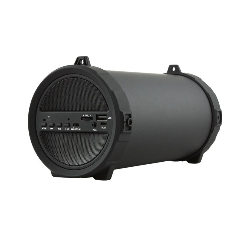 Беспроводной глубокий бас bluetooth наружный динамик power Bank 10 Вт большая мощность HiFi портативный USB стерео сабвуфер, адаптер звукосниматель мато