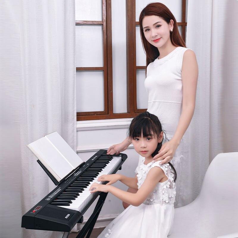 61 Chiave Di Musica Strumento A Tastiera Di Pianoforte Elettronico