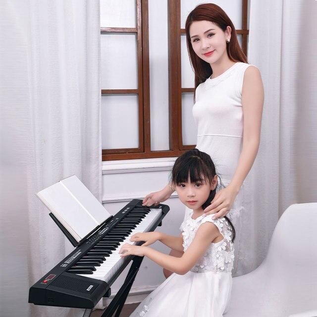 61 key music keyboard electronic piano synthesize professional musical instrument