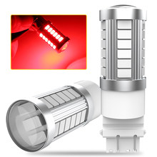 2X P27/7W T25 3157 W21W BA15S P21W LED Canbus 1157 BAY15D Led 1156 Car LED Backup Reverse Light for Peugeot 206 307 308 407 207