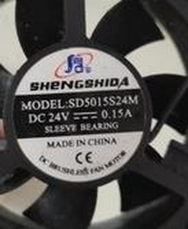 For Home Furnishings ShengShi Wind SD5015S24M DC24V 0.15 A 5015 5 Cm Inverter Fan Free Shipping