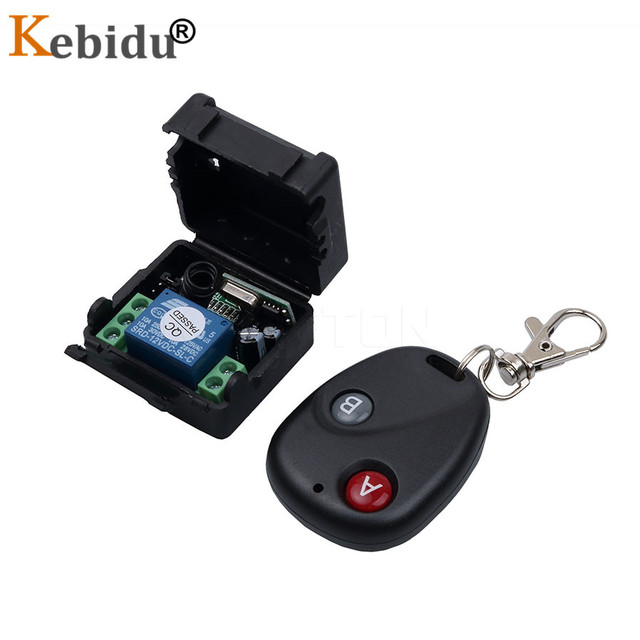 KEBIDU DC 12V 10A ワイヤレスリモートコントロールスイッチ 433 433mhz の Rf Telecomando レシーバーシステム