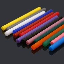 14pcs Hot Melt Glue Stick Mix Color 7mm Viscosity For DIY Craft Toy Repair Tools R9UF