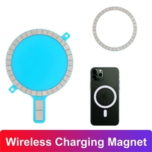 Charging-Magnet Magsafe iPhone Wireless for 12/Mini/12/.. Strong Back-Cover