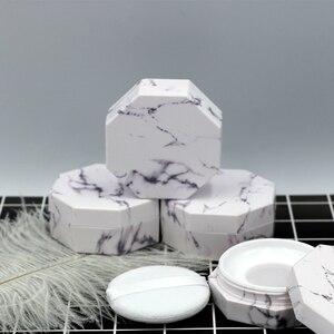 Image 3 - 1 個新ルースパウダーふるい化粧品プラスチックルースパウダーケース包装容器と 3 グラム 5g15g 20 グラム