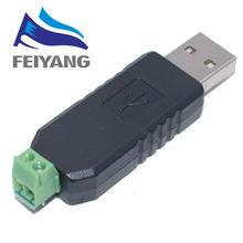 1 pièces USB vers RS485 485 convertisseur adaptateur compatible USB 2.0 USB 1.1 prise en charge Win7 XP Vista Linux Distance de Communication maximale 1200M