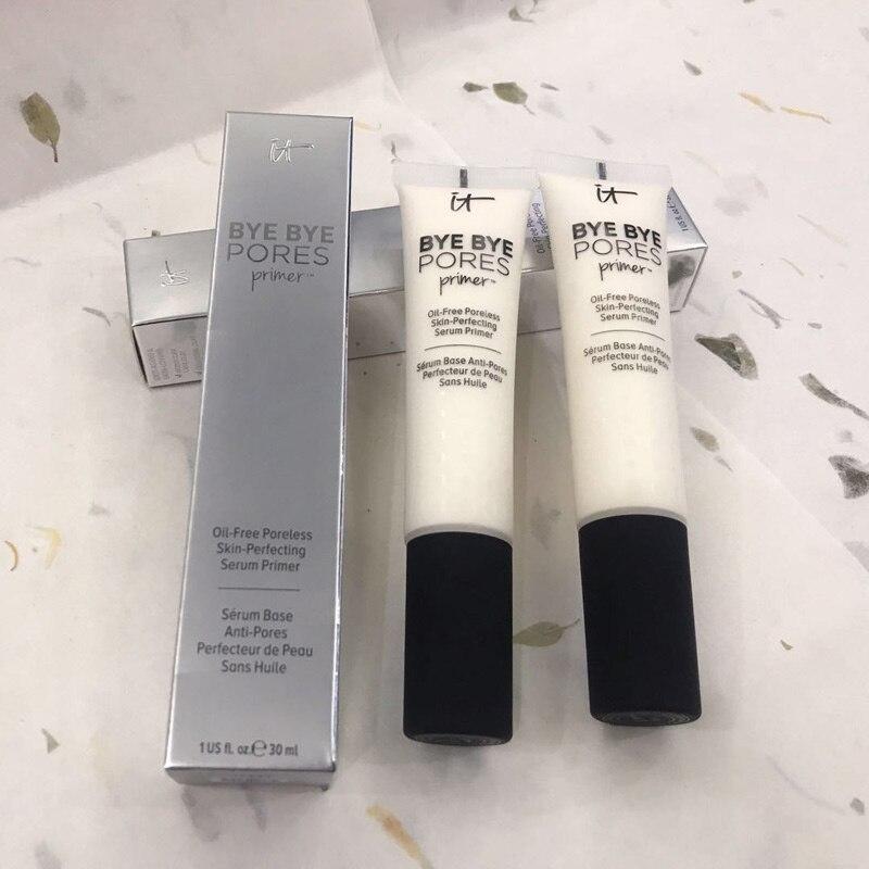 Новая косметика It bye, масляный Праймер, без пор, улучшенная сыворотка, Праймер, увлажняющий крем для макияжа