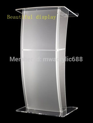 Pulpit FurnitureFree Shipping High Quality Price Reasonable CleanAcrylic Podium Pulpit Lecternacrylic Pulpit Plexiglass