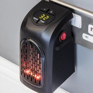 Image 5 - Chauffe mur électrique réglable, Mini Portable, à brancher, pour chauffage intérieur, espace personnel, Thermostat