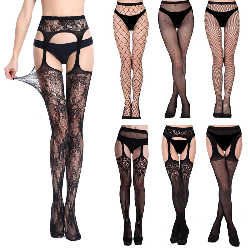 Summer Lady Fashion Sexy Women Stylist Fashion Ladies Lace Top Tights Stay Up Thigh High Stockings Nightclubs Pantyhose New 2020