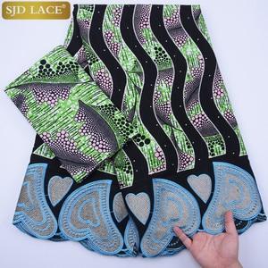 Image 2 - שעווה אפריקאית בד תחרה מכירה לוהטת האחרון הגעה שעווה תחרה עם תחרת חוט תחרה בד ניגרי חתונה מסיבת שמלת A1295