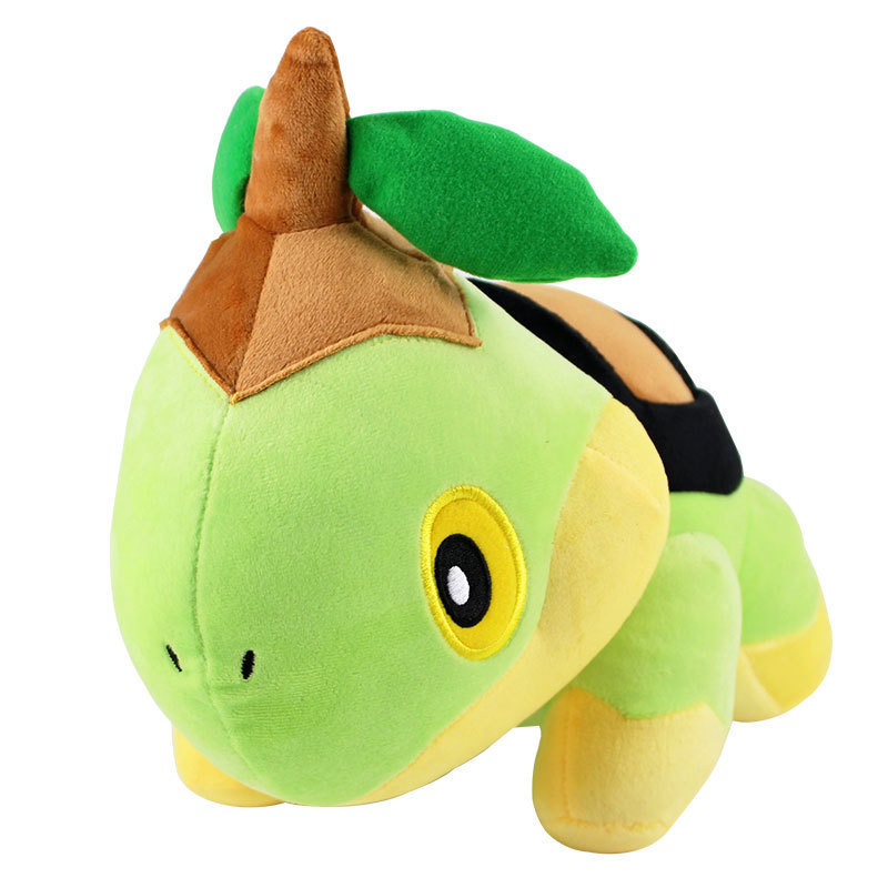 30cm Quadruped Turtwig Plush Doll Figure Soft Grass Seedling Turtle Torterra Evolution Torterra Animal Stuffed Toys