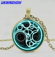 Doctor of the Secret Time Seal Hanging Necklace Fashion Mysterious Jewelry
