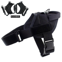 Tactical Dog Vest Police Service Training Combat Harness 1000D Nylon Waterproof Clothes