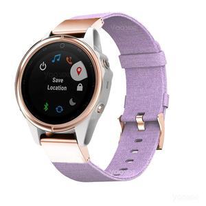 Image 4 - YOOSIDE for Fenix 6S Wristband 20mm Quick Fit Woven Nylon Canvas Watch Band Strap for Garmin Fenix 5S/5S Plus/Fenix 6S Pro