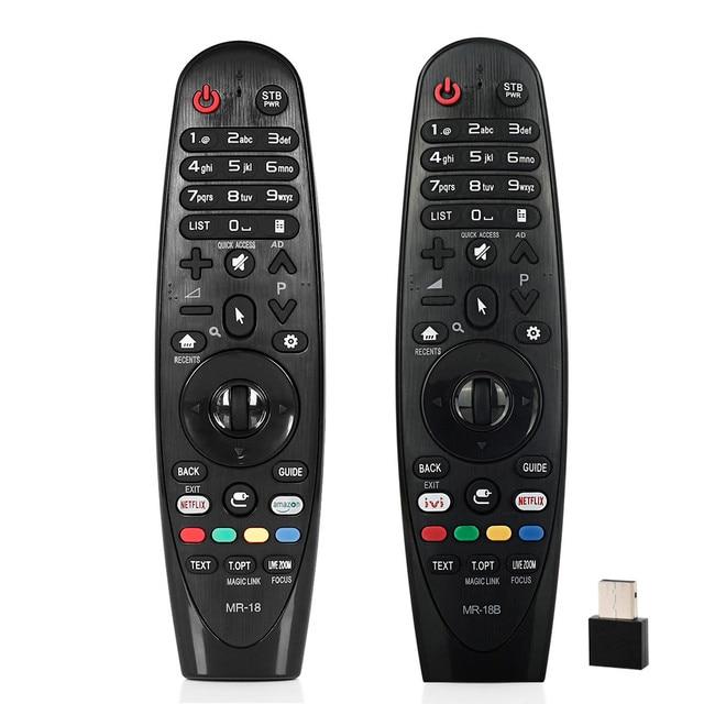Pilot uniwersalny do lg LCD TV MR 18 AN MR18BA AN MR19BA AN MR18 SK8000 SK8070 AKB75375501 OLED65W8PU z netflx amazon