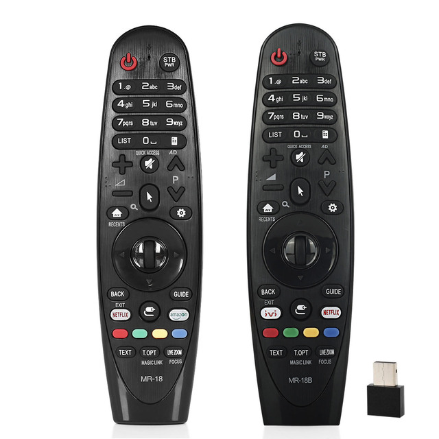 Remote control universal for lg LCD TV MR 18 AN MR18BA AN MR19BA AN MR18 SK8000 SK8070 AKB75375501 OLED65W8PU with netflx amazon