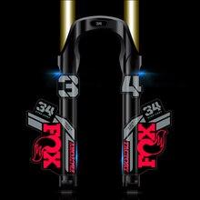 2021 raposa float 34 mountain bike garfo dianteiro adesivos de bicicleta fox34 garfo dianteiro decalques mtb bicicleta decalque 22cm