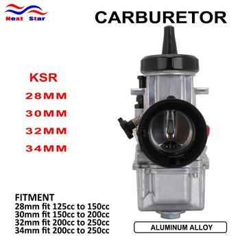 Para KSR 28 30 32 34 para Park Carburador con poder Jet Universal para KTM Scooter ATV Racing moto 125cc-250cc