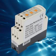 JVRD-380W 250V/AC 6A Din rail Adjustable Circuit Voltage Protector Three Phase Over Under Voltage Monitoring Relay цена в Москве и Питере