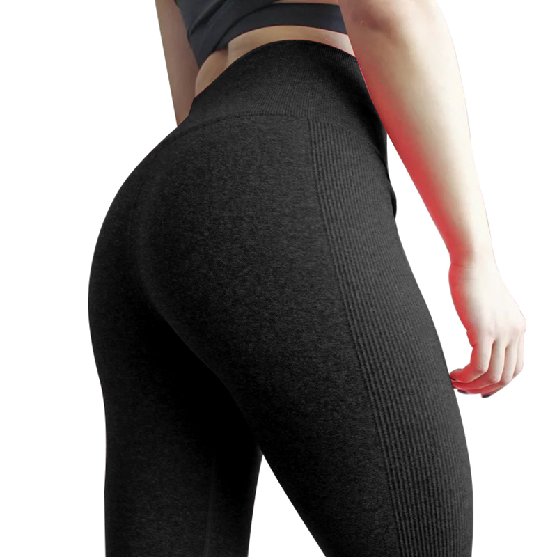 High Waist Solid Fitness Leggings Women Fashion Seamless Leggings Ladies Athleisure Sportswear Sweat Pants Trousers