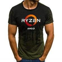 PC CP CPU Uprocessor AMD RYZEN T Shirt geek programmierer tees Computer ZEN Peripheriegeräte geek T-Shirt 2019