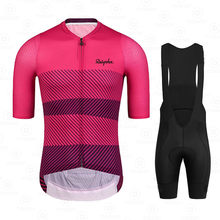 Men Clothes 2021 Pro Team Summer Cycling Jersey Breathable Ropa Ciclismo Hombre Triathlon Skinsuit Short Sleeve Uniform Raphaful