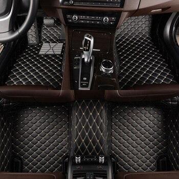 HLFNTF Custom car floor mats For LEXUS all model LS ES IS IS-C RX NX GS CTh GX LX RC RC-F SC car accessories car stying car mat breathable car seat covers for lexus es is c is ls rx580 nx gs cth gx lx rc rc f car accessories stickers car styling