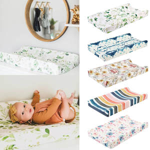 Cover Diaper Changing-Table-Cover Baby Nursery Floral-Cover--35 High-Quality 5-Colors