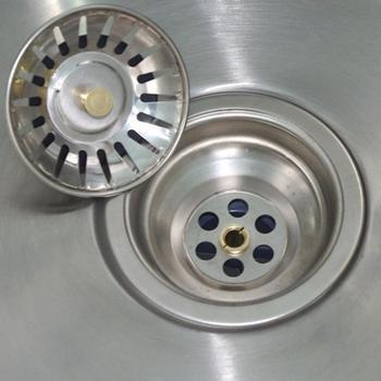 1 sztuk wysokiej jakości zlewozmywak ze stali nierdzewnej sitko korek wtyczka odpływowa filtr do zlewu Filtre Lavabo łazienka wyłapywacz włosów narzędzie tanie i dobre opinie Liplasting CN (pochodzenie) Bez kran Pojedyncze bowl STAINLESS STEEL Other Powyżej licznika ROUND Strainer Polerowane