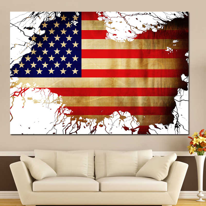 It's just an image of Printable American Flag regarding large