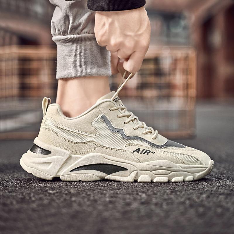 Men Height Increasing Platform Tenis Running Shoes Teenahe Student Run Sports Training Shoe Trendy Basket Homme Shoes Sneakers