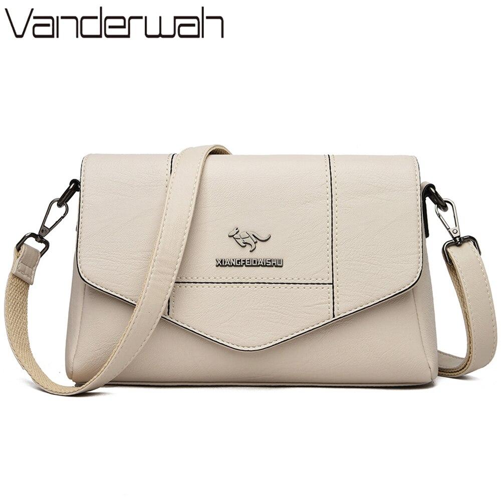 White Bag Female Messenger Shoulder Bags For Women Feminina Bolsa Leather Luxury Handbags Women Bags Designer Sac A Main Femme