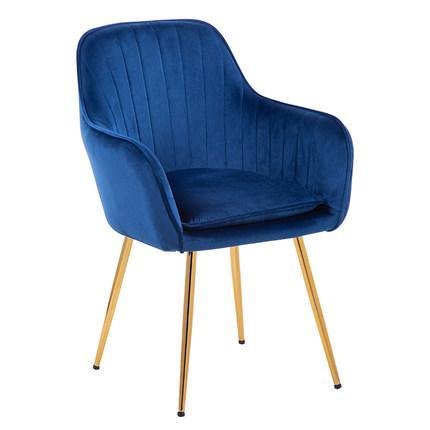 Принцесса Принц леди нордический Золотой Железный Металл мягкий бархат обеденный стул домашний комод Свадебный праздник ужин бар кофе диван стул - Цвет: C7