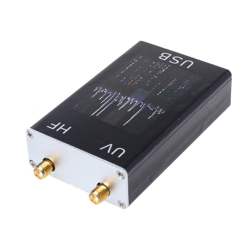 1Set 100KHz-1.7GHz Full Band UV HF RTL-SDR USB Tuner Receiver R820T+8232 Radio