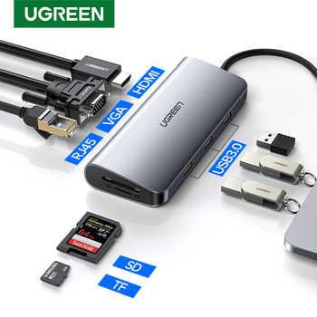 Ugreen Thunderbolt 3 Dock USB tipo C a HDMI HUB adaptador para MacBook Samsung Dex Galaxy S10/S9 USB-C convertidor Thunderbolt HDMI