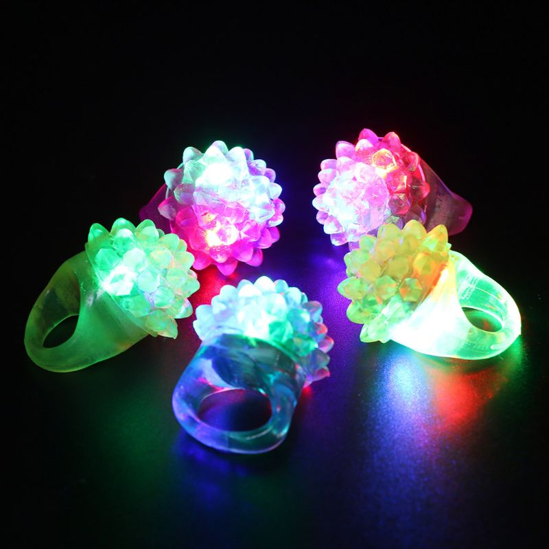 2020 Night Toy Stars Shine In The Dark Kids Luminous Rings New Children's Toys Flash LED Cartoon Lights Glow In The Dark Toys E