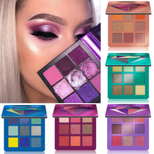 CmaaDu 9 Colors Eye Shadow Palette Natural Shimmer Matte Eyeshadow Powder Brand Professional Eyes Makeup Pallete Maquiagem все цены