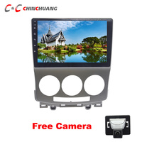 Free Reverse Camera lPS 2.5D Screen 8 core Android 8.1 Car DVD Player for Mazda 5 2005 2010 Radio Head Unit GPS Navigation DVR