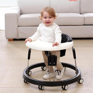 Baby-Walker Seat-Car Multi-Functional Foldable Anti-Rollover with Wheel