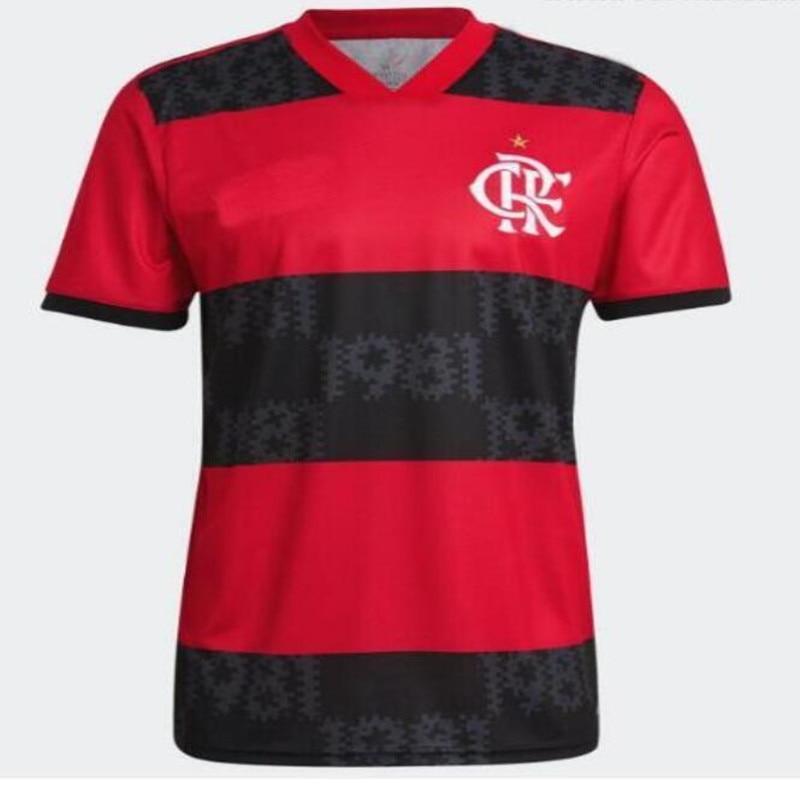 Novo 2022 flamengo camisa 21 22 e. Ribeiro gerson gabi gabriel b. Diego de arrascaeta pedro b. Henrique op camisa de qualidade