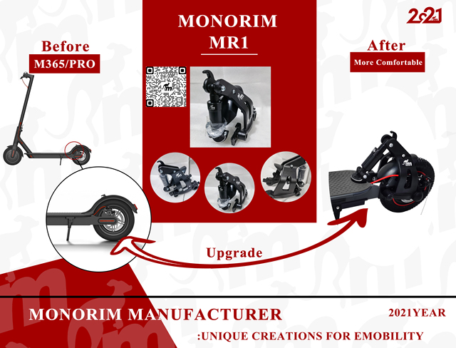 Original Monorim Rourge Suspension Xiaomi Mijia M365 M365 PRO amortisseur