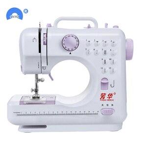 Image 5 - Новая многофункциональная швейная мини машина с двумя скоростями и двойной нитью для начинающих