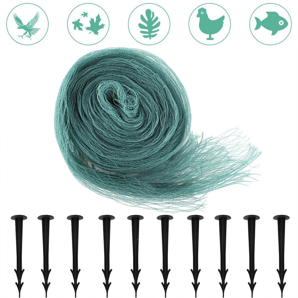Pond Protection Nets Anti-birds and Anti-livestock Pond Woven Nets 2X3M Anti-deciduous Nets
